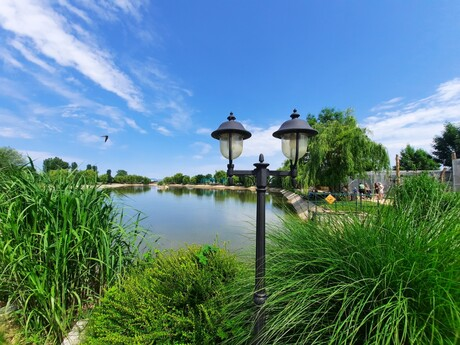 Eko Park - veľké jazero