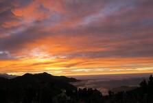 svítání z Poon Hill