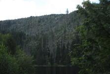 jezerní stěna