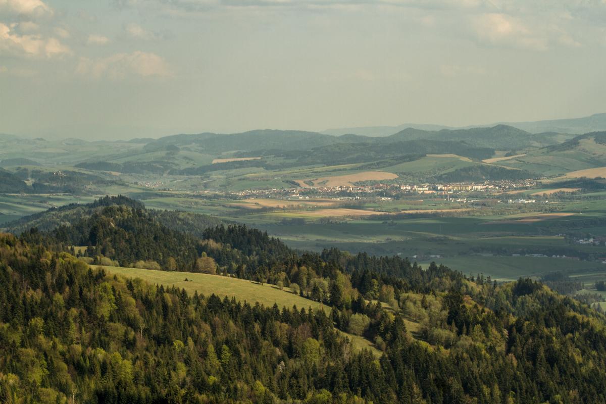Pieniny – výhledy do okolí (Stará Ľubovňa)