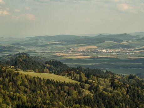 Pieniny - výhľady do okolia (Stará Ľubovňa)