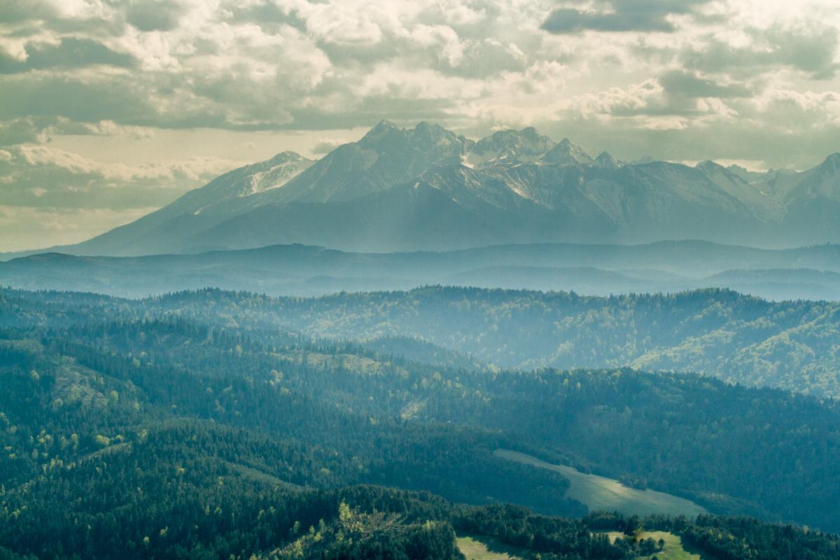 Pieniny – výhledy do okolí (Tatry)