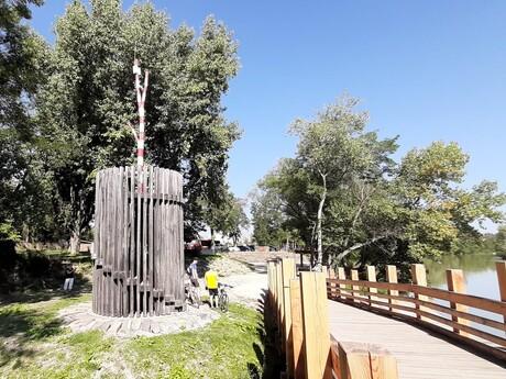 Korzo Zálesie s vyhliadkovou vežou