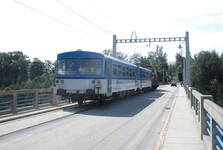 Железнодорожная трасса Бехине - Табор