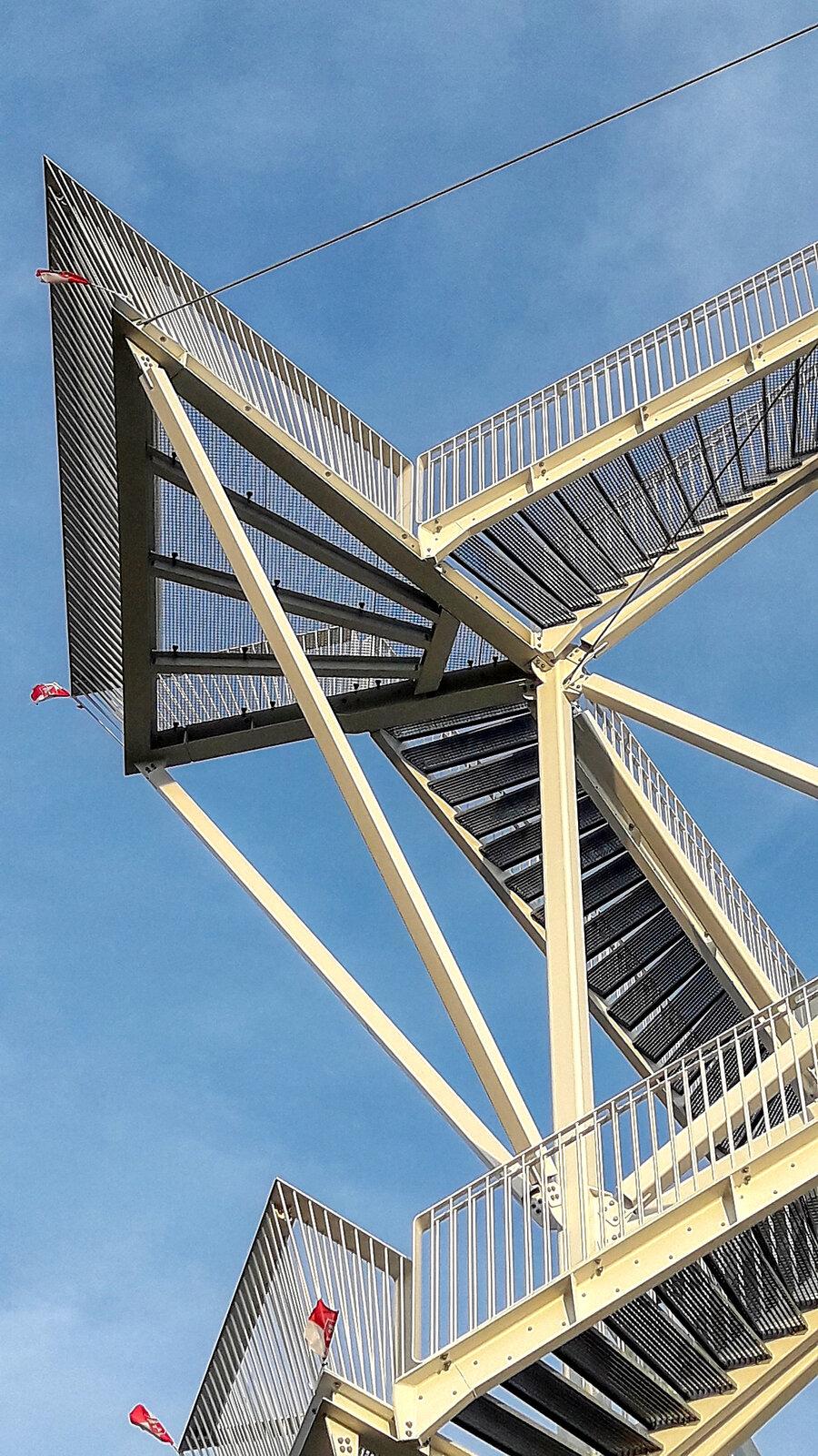 vyhlídková věž na Děvínské Kobyle