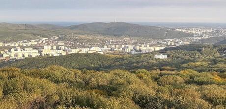 výhľad na Dúbravku a Staré Mesto