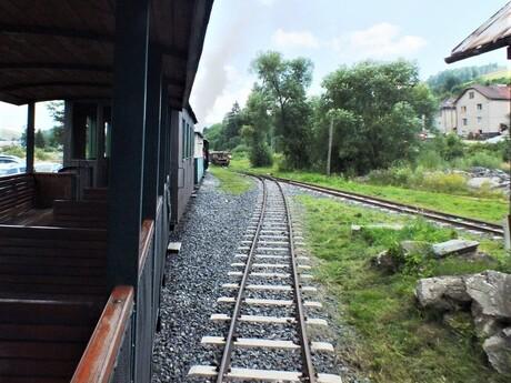 trať Čiernohorskej železnice, Čierny Balog