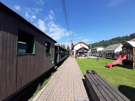 Čiernohorská železnica - stanica, Čierny Balog