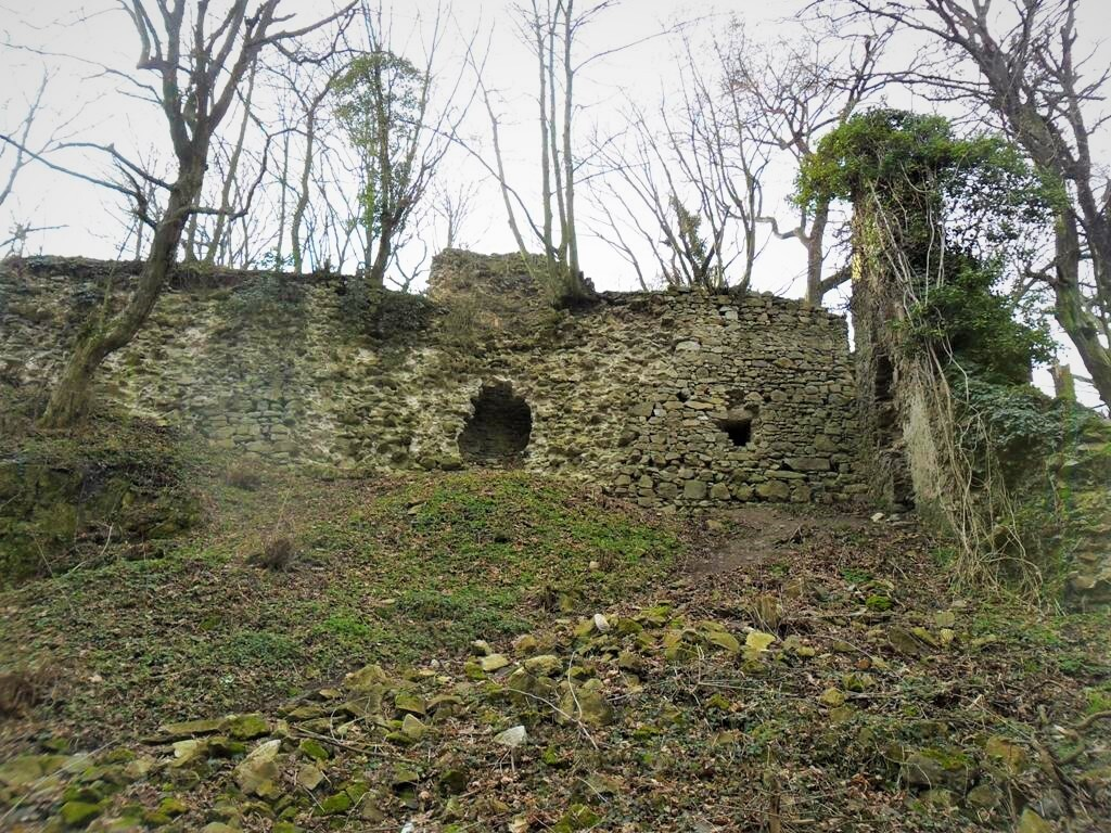 zřícenina hradu Biely Kameň, (c) Roman Tvarožka