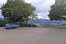 parkoviště u vyhlídky Háj