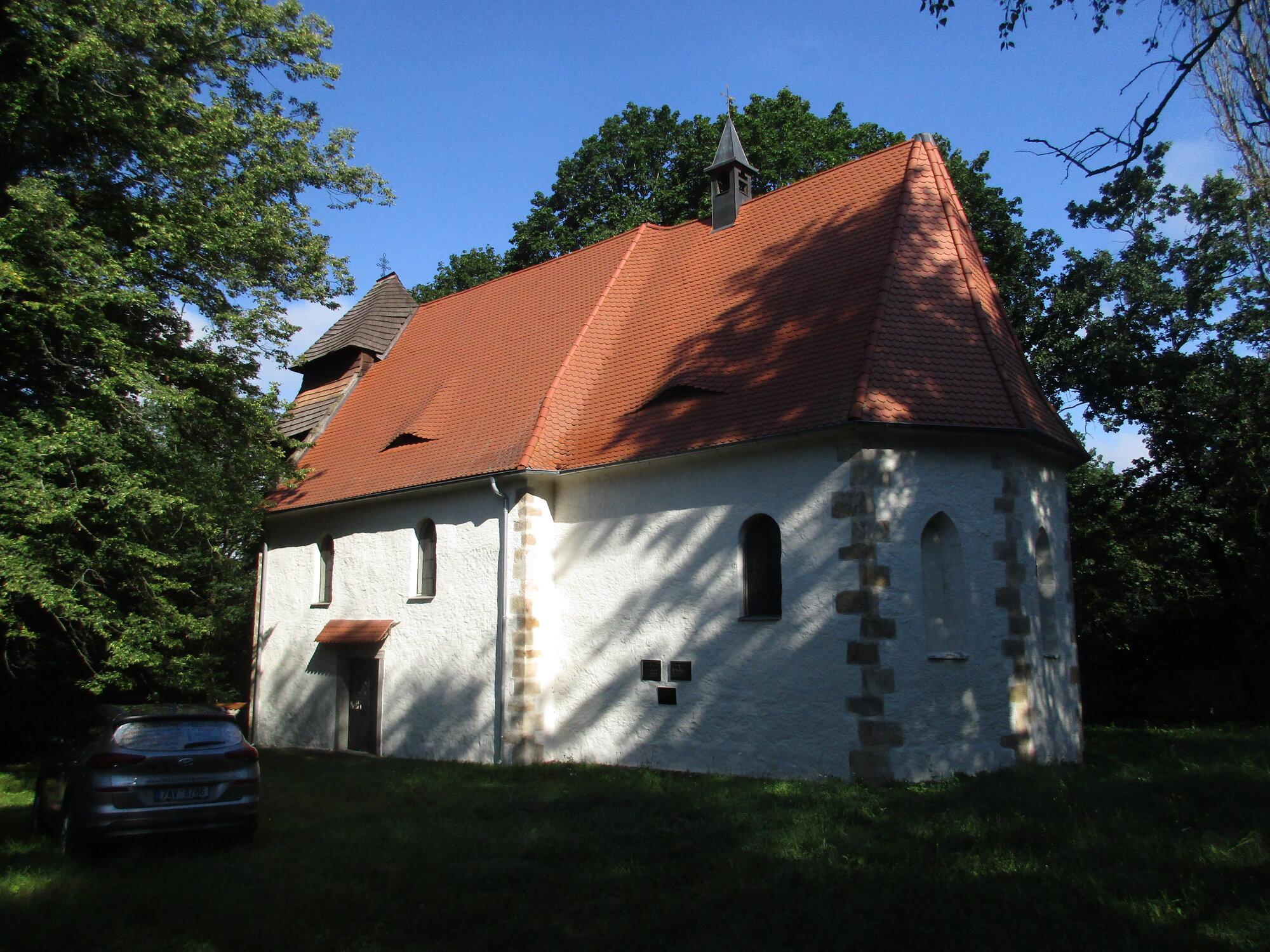 kostel sv. Ambože ve Vícově