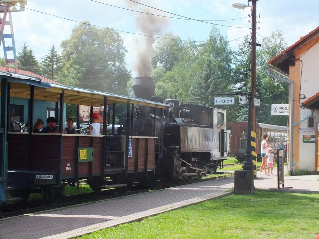parní lokomotiva, Čiernohorská železnice