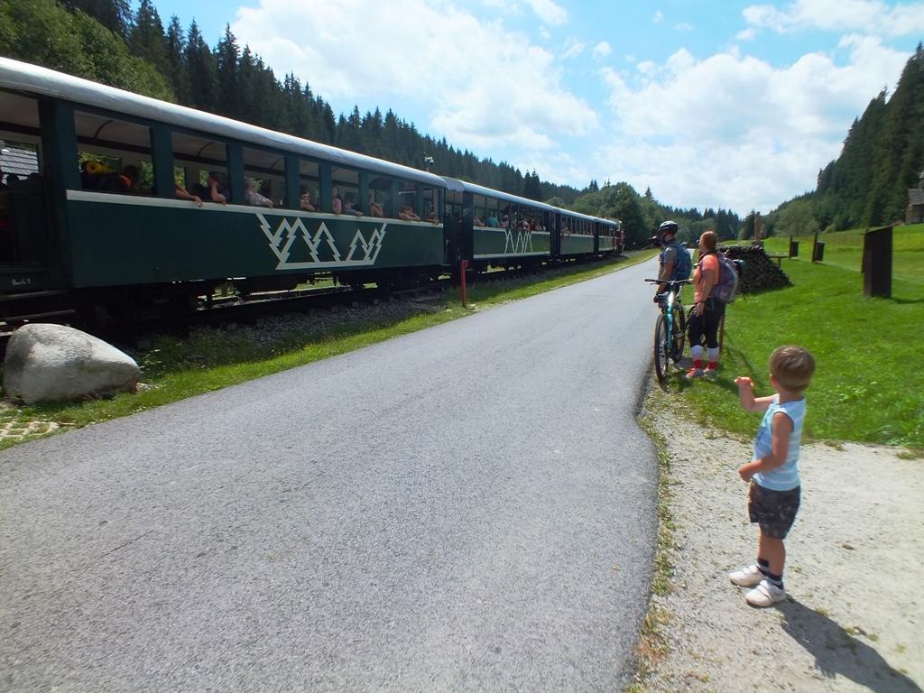 Čiernohorská železnice – Vydrovo