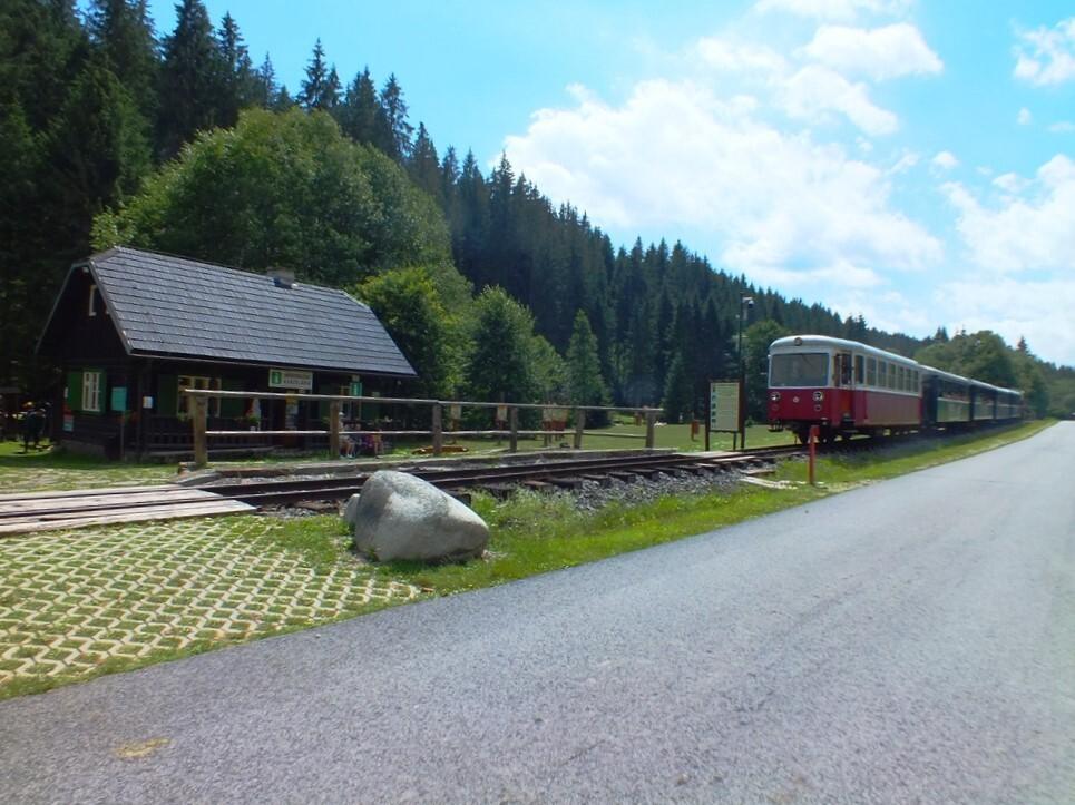 Черногорская железная дорога: Выдрово