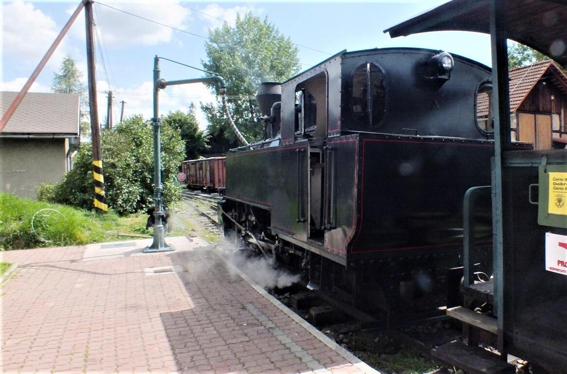 Черногорская железная дорога: Черный Балог - паровоз