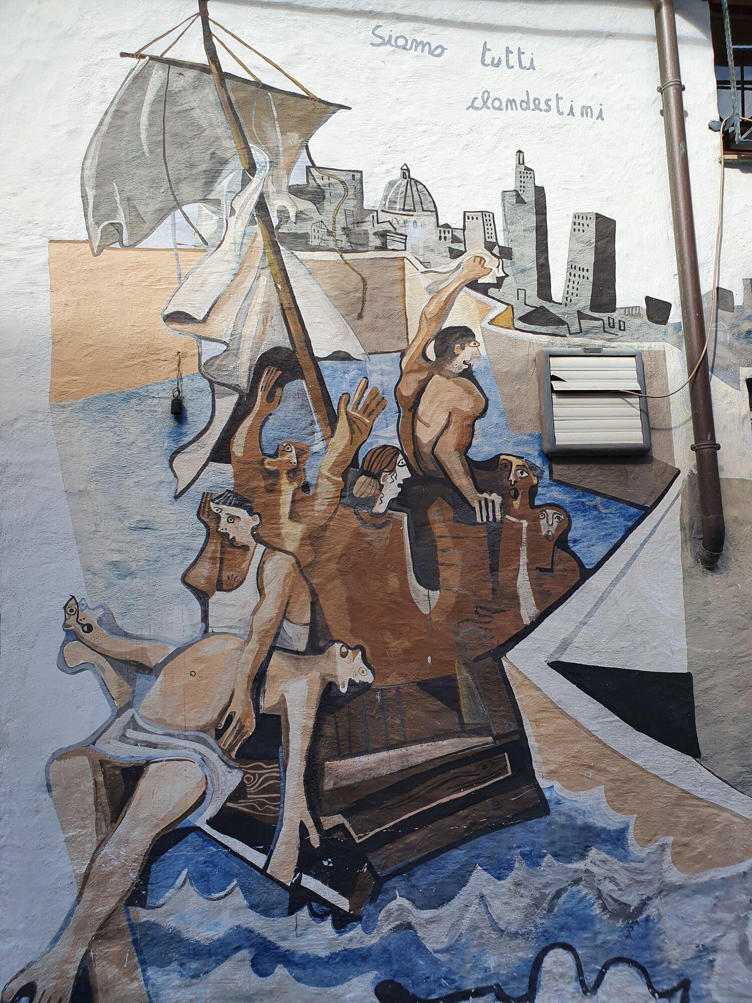murales v Orgosolu