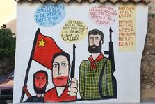 murales v Orgosolo