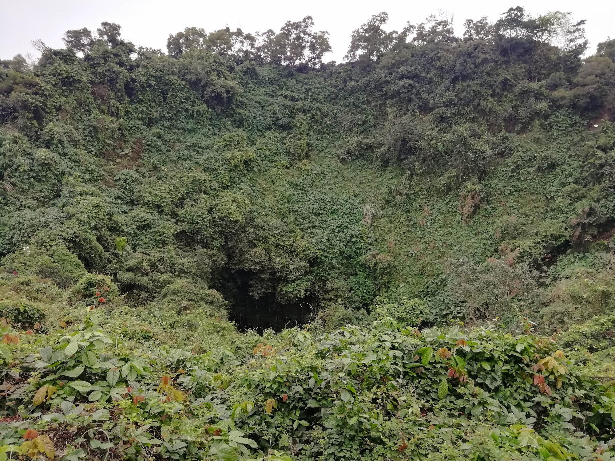 kráter vulkánu