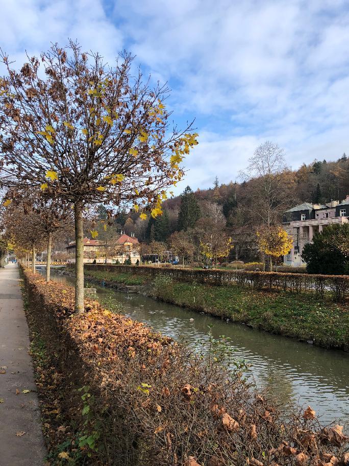 procházka centrem Luhačovic