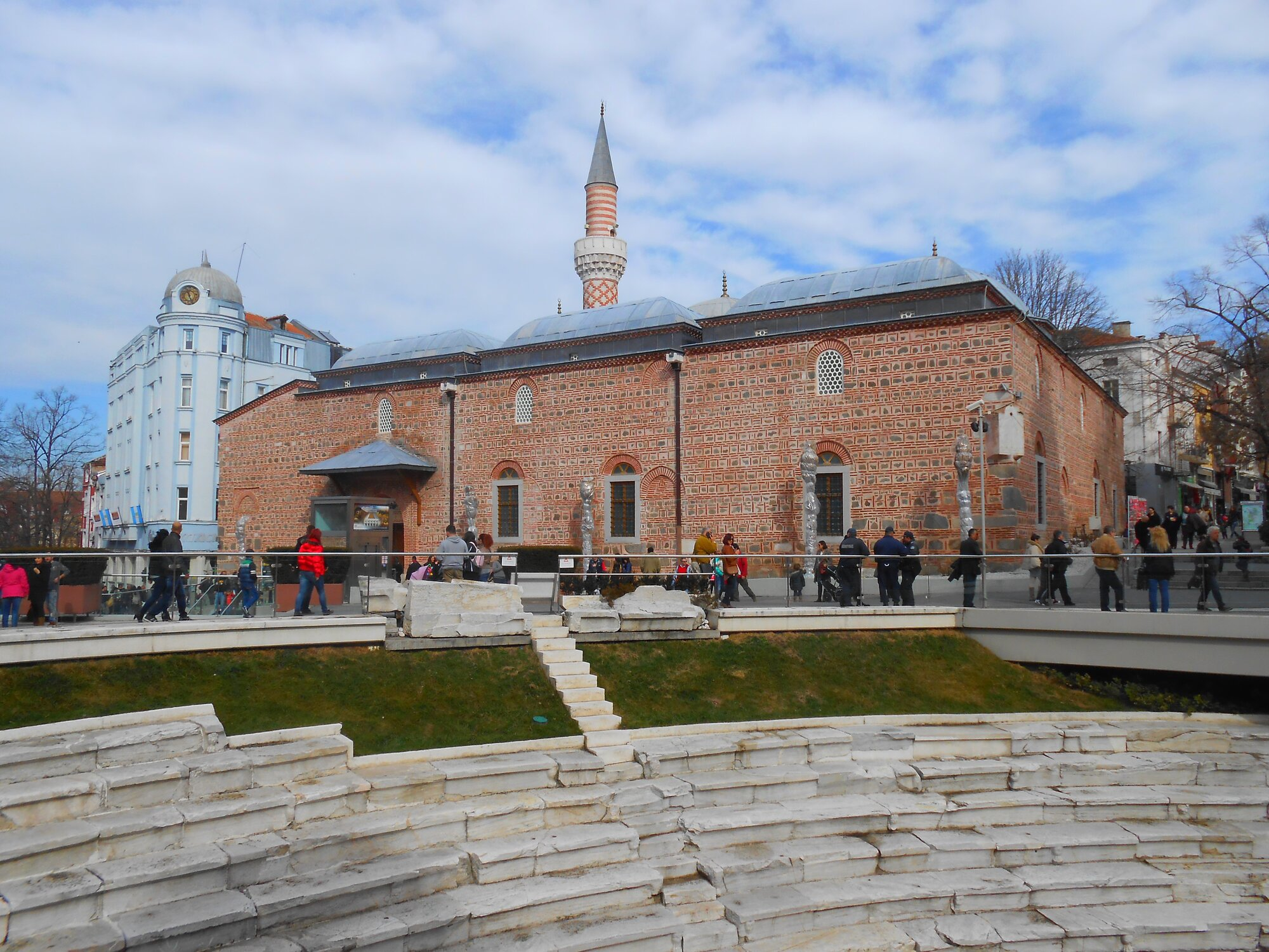jediná plovdivská mešita Džumaja džamíja
