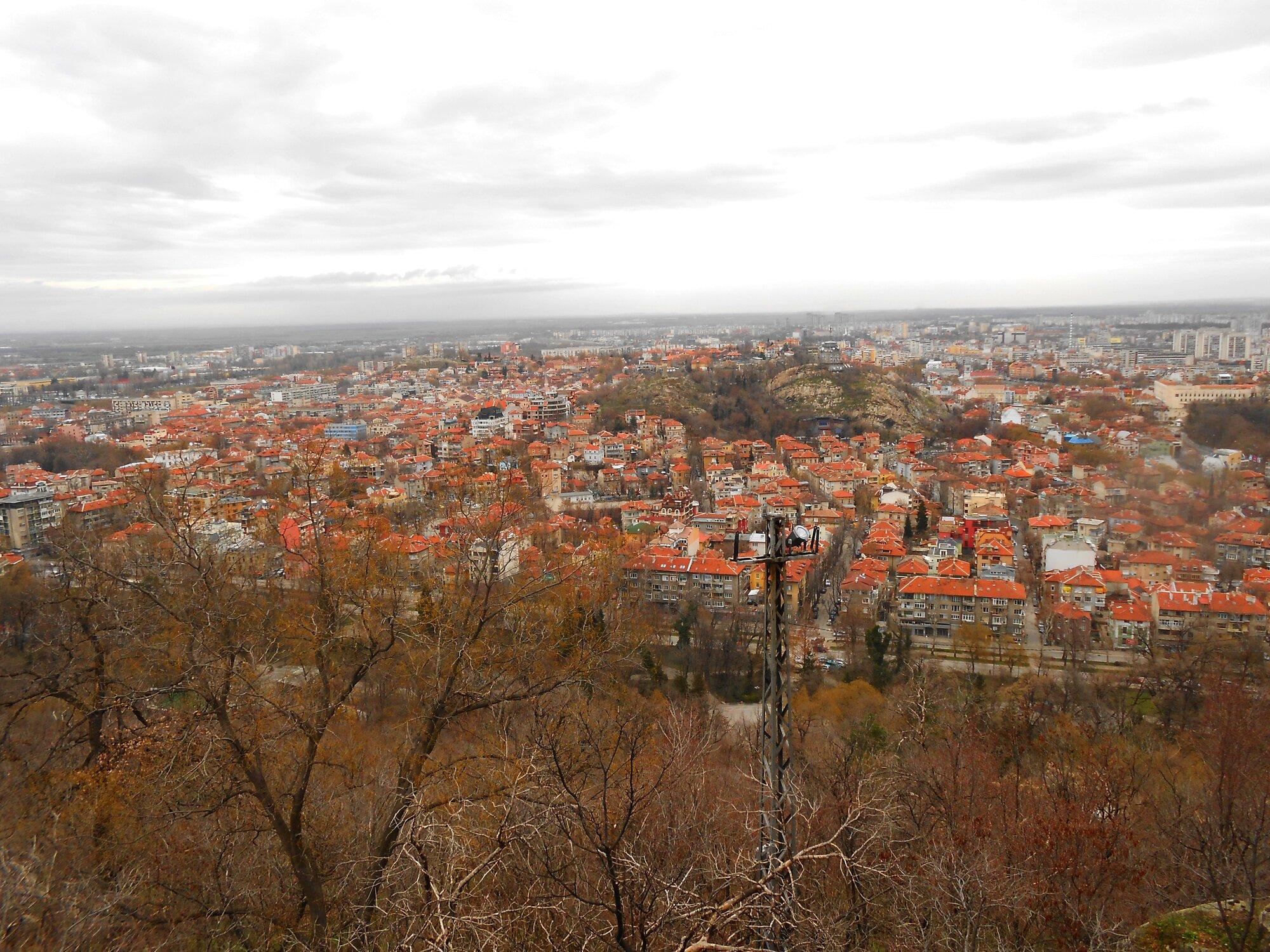další z výhledů na město