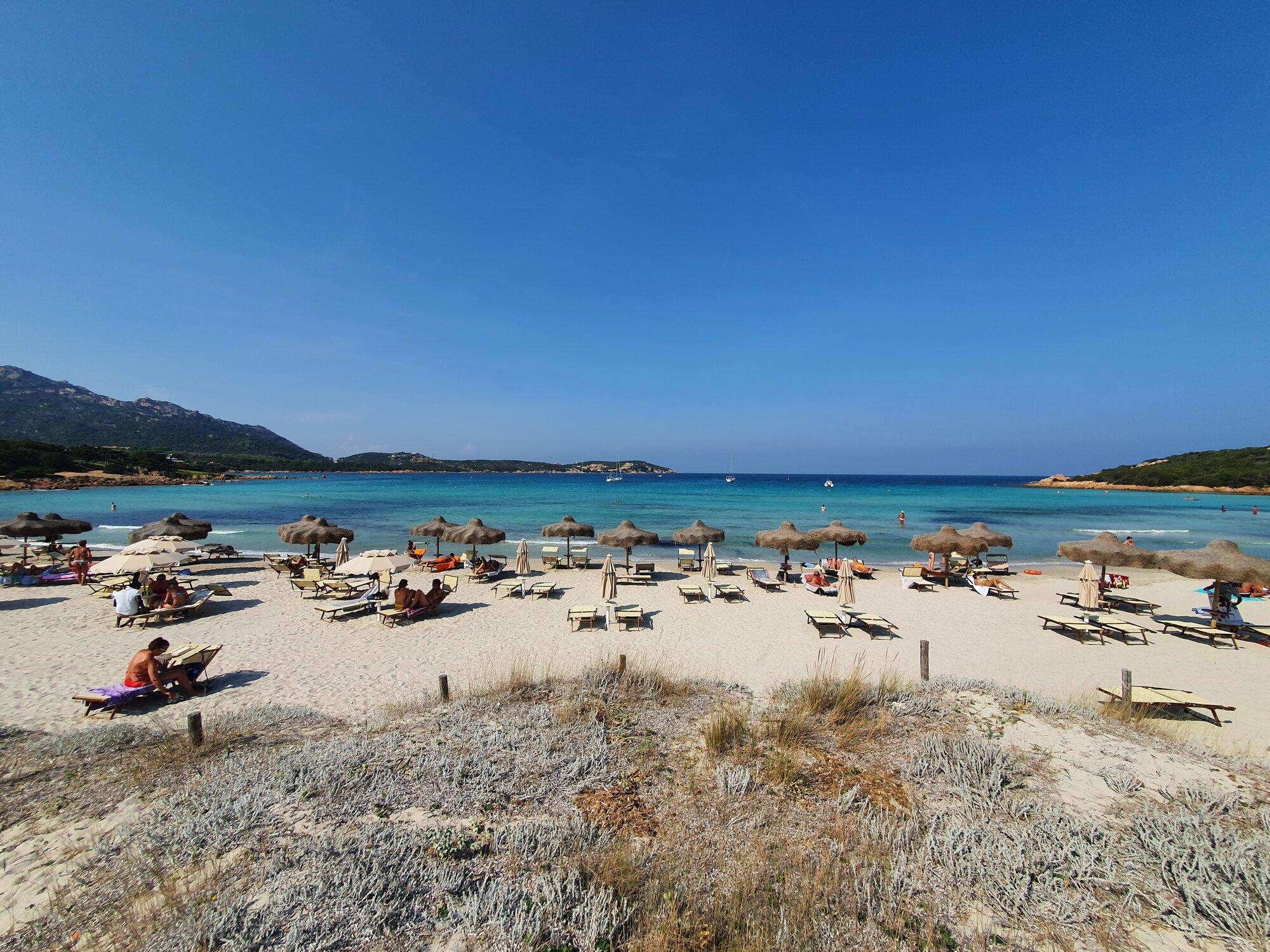 Grande Pevero pláž