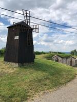 místní větrný mlýn