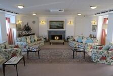 přijímací pokoj pro návštěvy