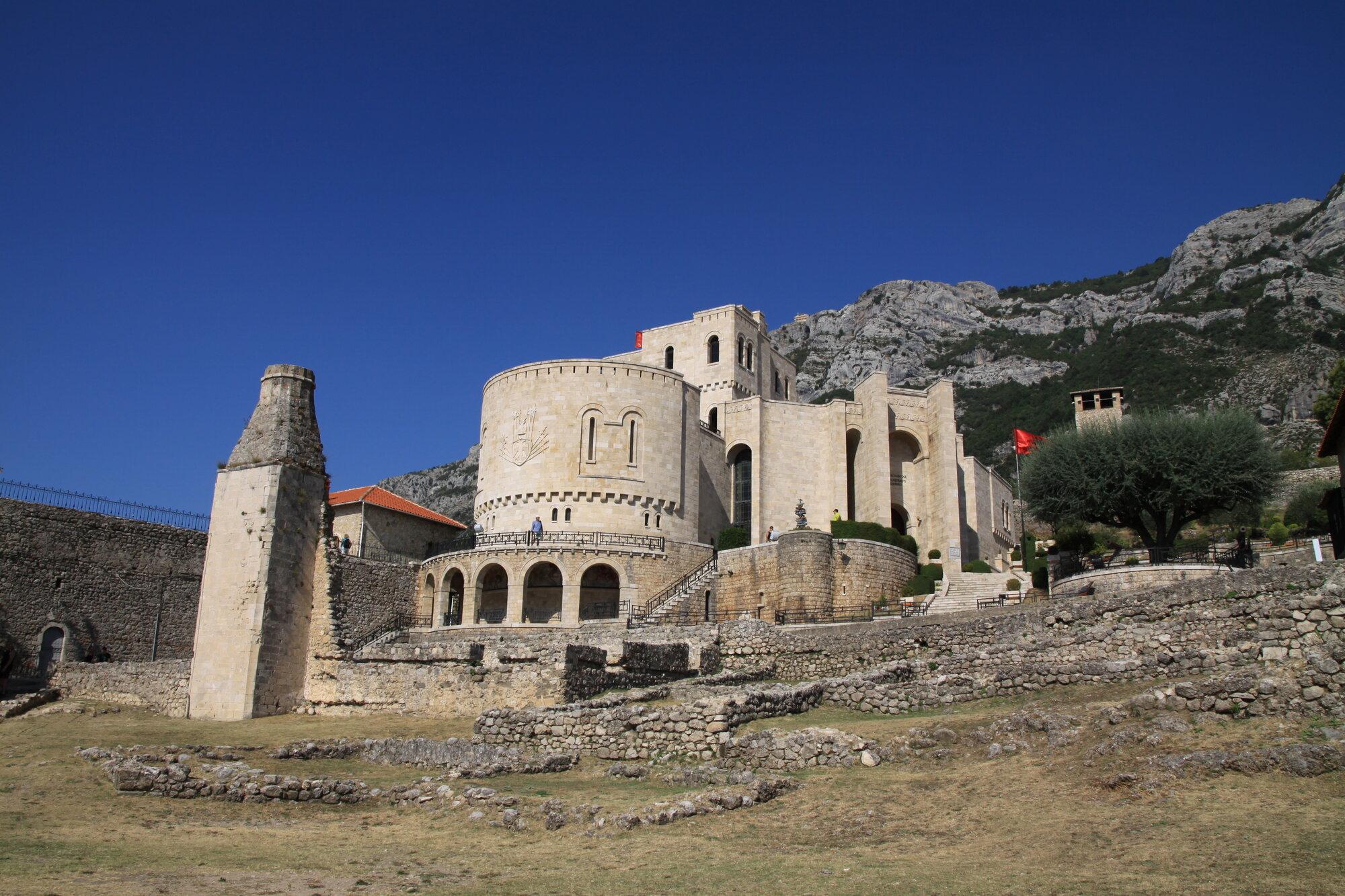 hrad v Kruje