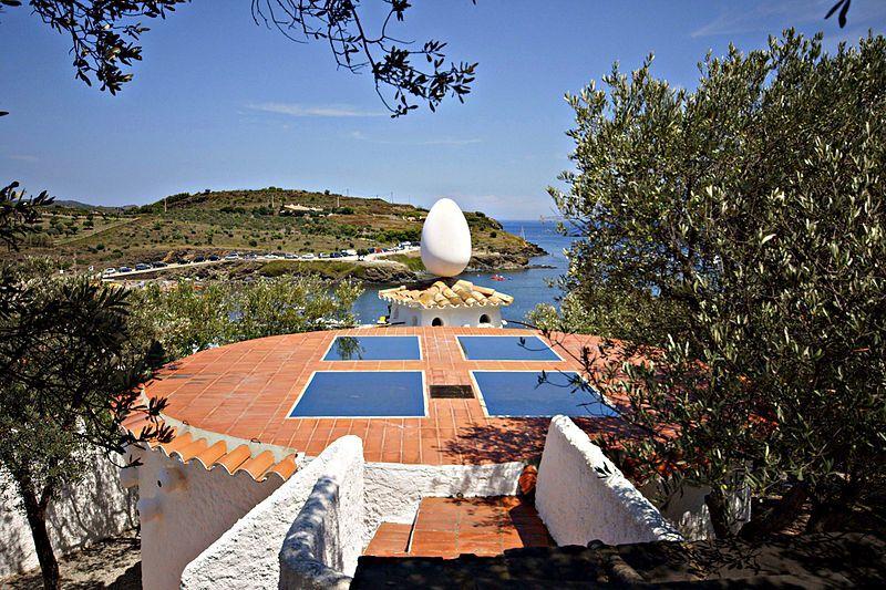 dům Salvadora Dalího