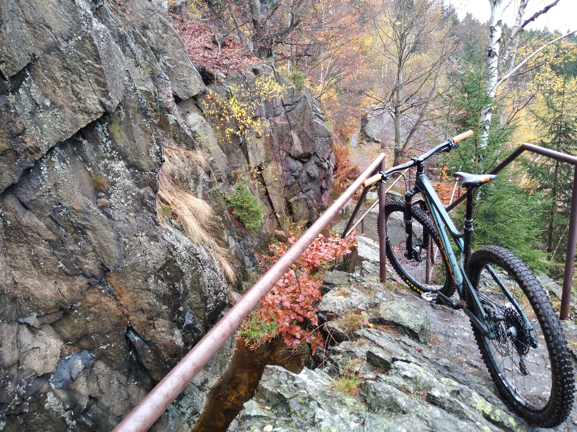 výlet na kole k přehradě Fláje