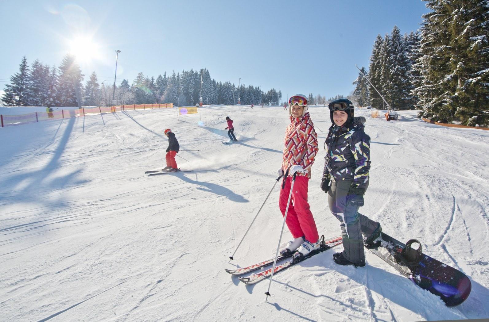 Вельке-Карловице – катание на лыжах, (c) архив CCRVM
