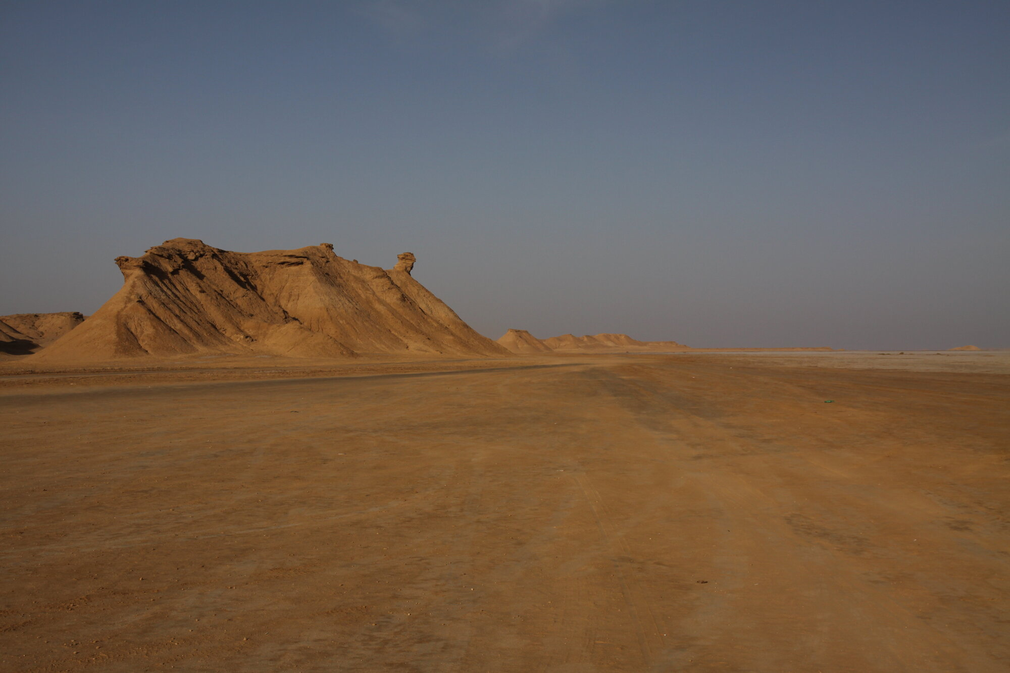 příjezd do pouště