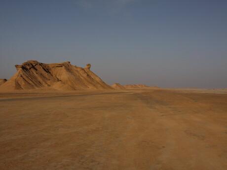 príjazd do púšte