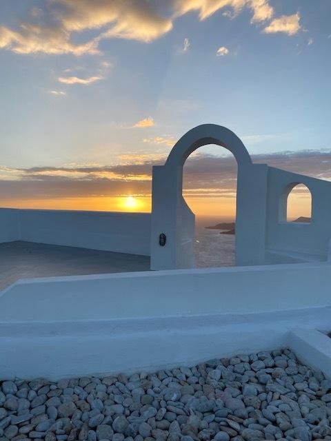 západy slunce na Santorini