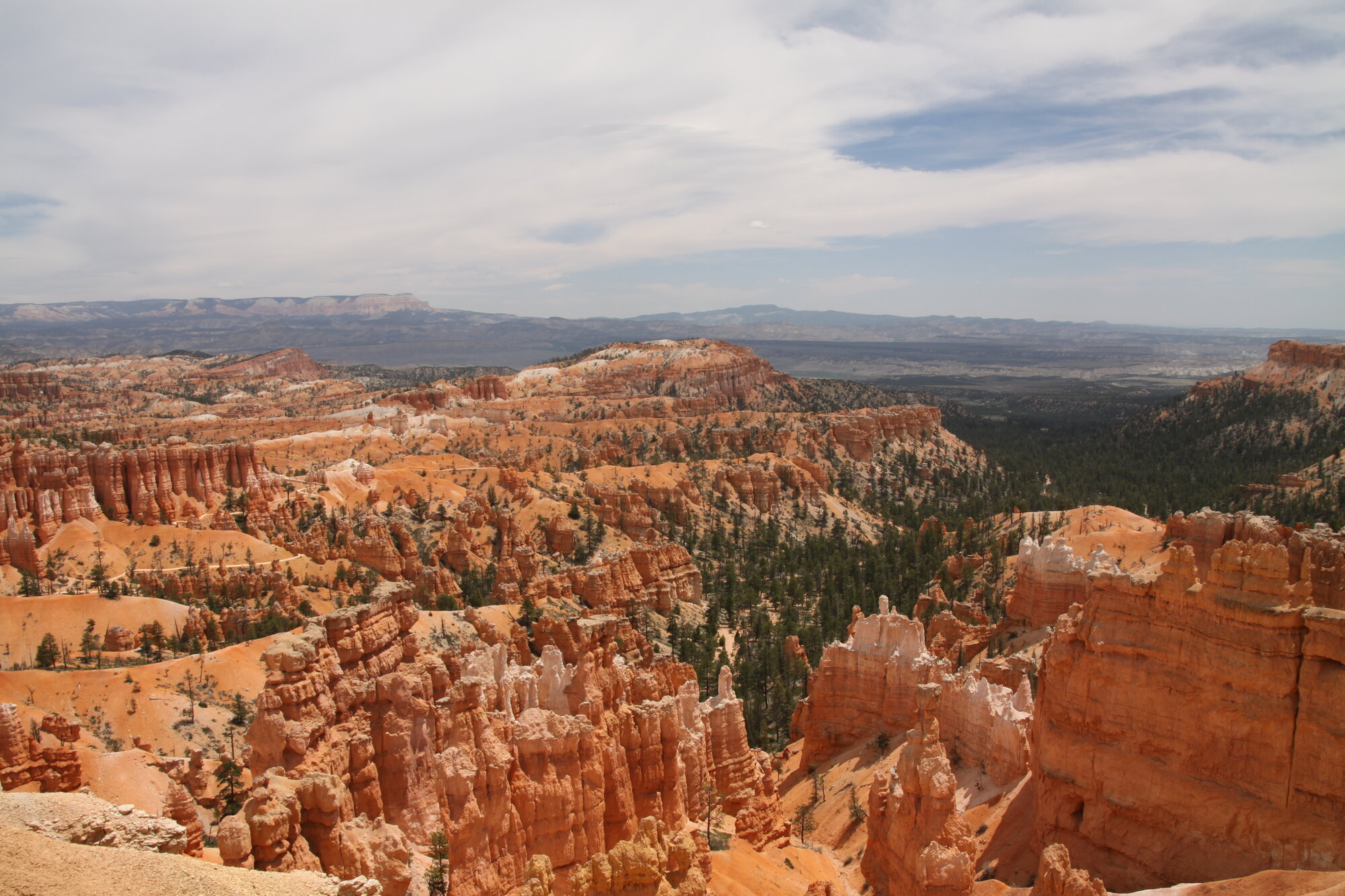 pohled na Bryce Canyon
