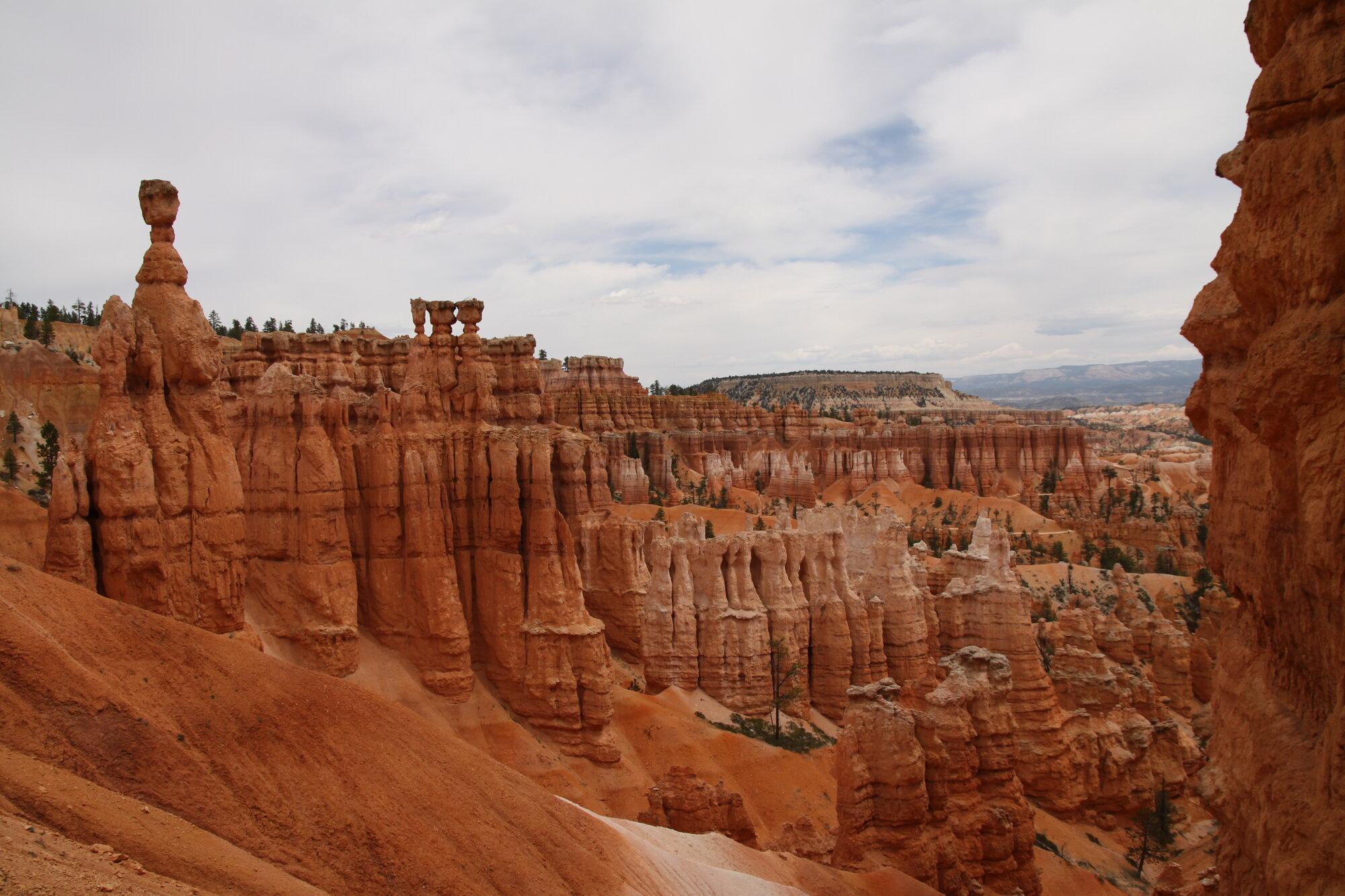 skalní útvary v Bryce Canyon