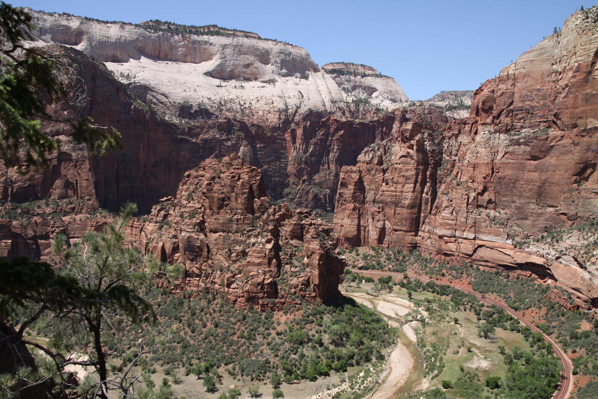 skalní útvary Zionu