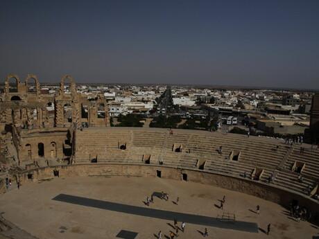 pohľad na amfiteáter