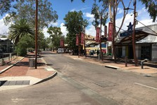 Alice Springs looks like a sleepy town