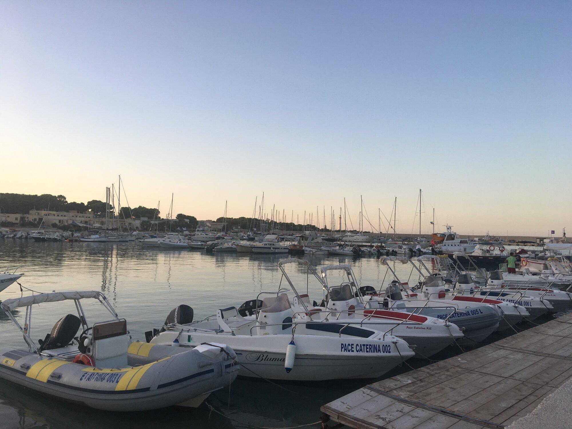 порт в Сан-Вито-Ло-Капо