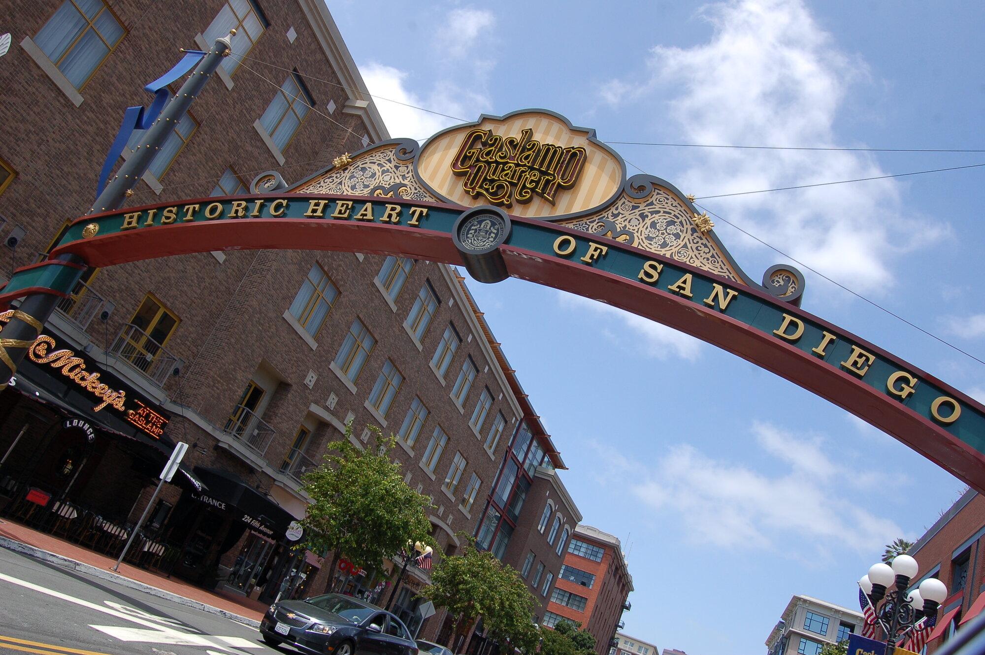 brána do San Diega