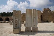 pozůstatky Antonínova chrámu