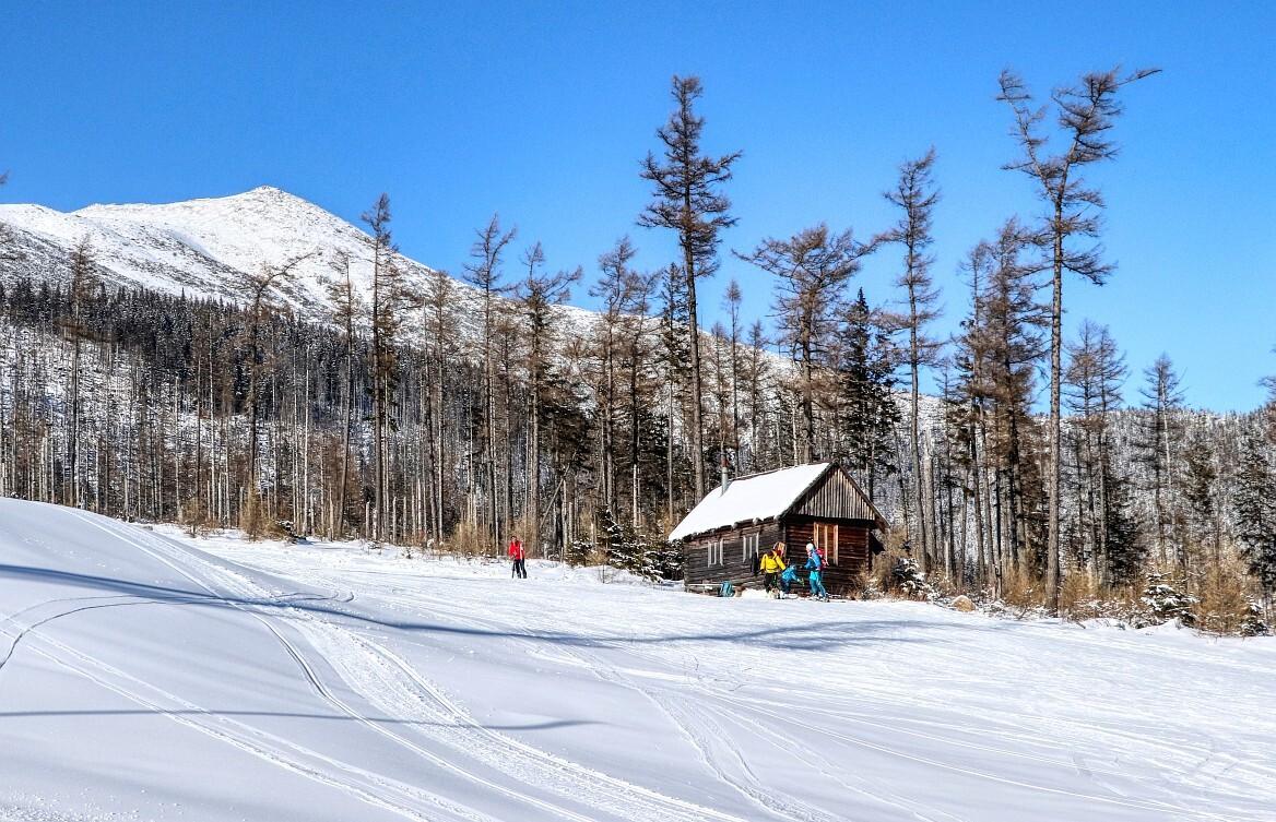 lyžařská chatka mezi Startem a Borůvkami