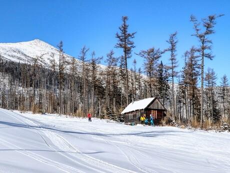 lyžiarska chatka medzi Štartom a Čučoriedkami