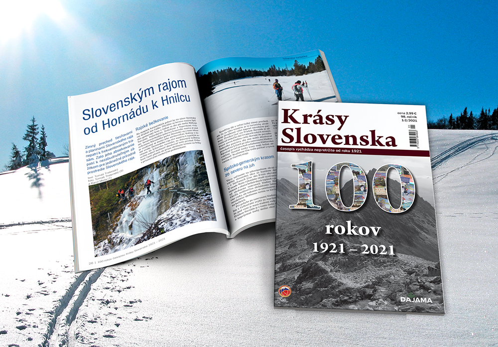 Krásy Slovenska, 100 let