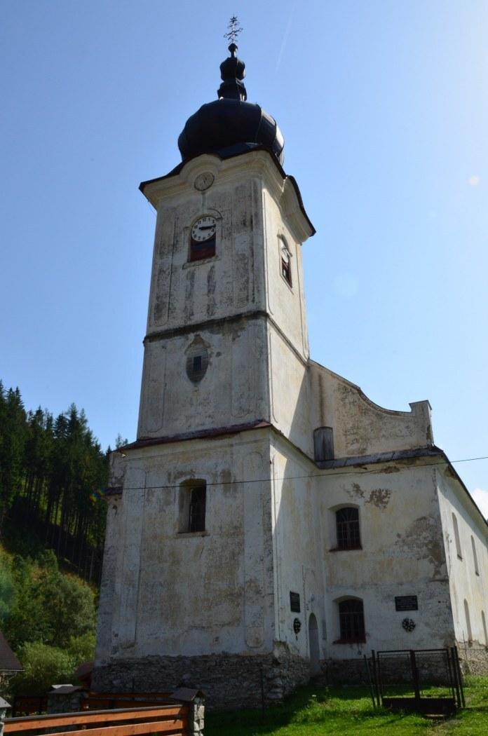 evangelický kostel, Vyšná Boca