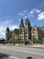 historické budovy v Ottawe