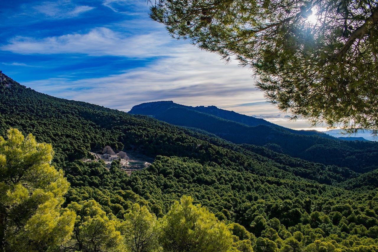 pohoří Sierra Espuña