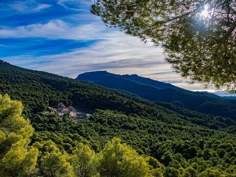 pohorie Sierra Espuña